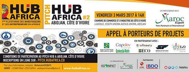 affiche pitch hub africa abidjan